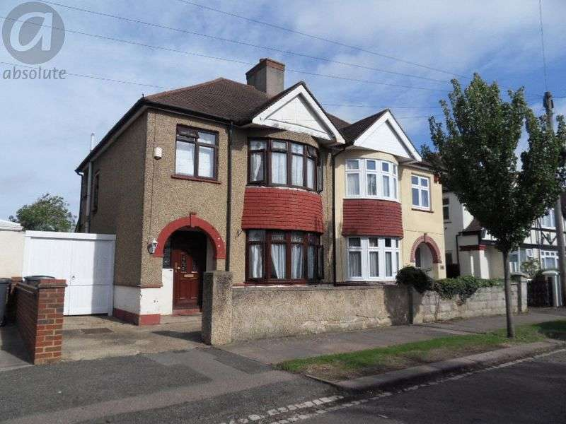 3 Bedrooms Semi Detached House for sale in Manor Road, Bedford