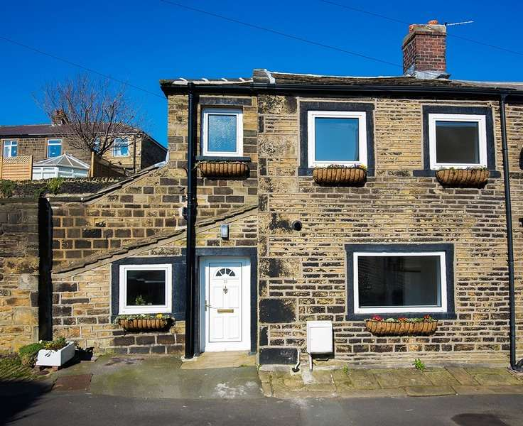 2 Bedrooms Semi Detached House for sale in Cross Hill, Greetland, West Yorkshire, HX4