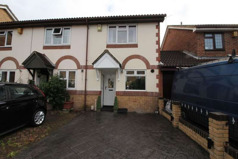 2 Bedrooms Semi Detached House for sale in Chatsworth Road, Dartford, DA1