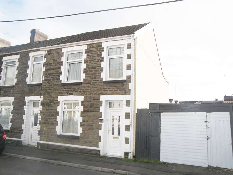 3 Bedrooms End Of Terrace House for sale in Eva Street, Neath