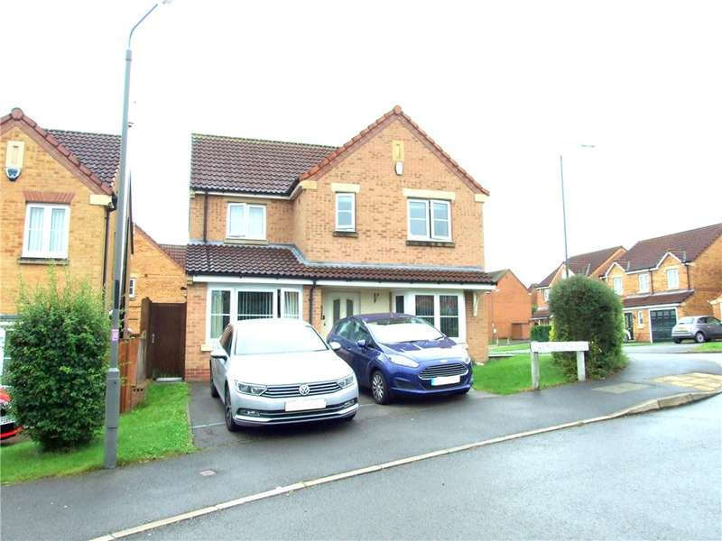 3 Bedrooms Detached House for sale in Chatsworth Way, Heanor, Derbyshire, DE75