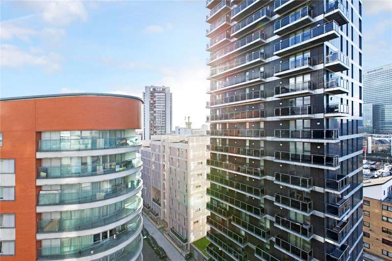 2 Bedrooms Flat for sale in Providence Tower, Columbia West Apartments, 1 Biscayne Avenue, London, E14