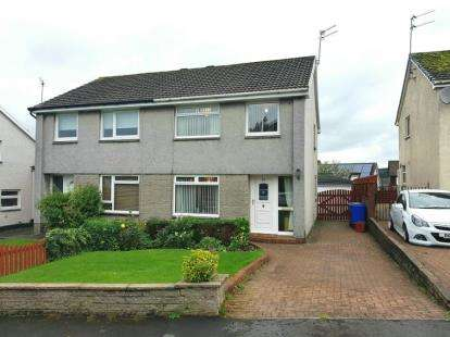 3 Bedrooms Semi Detached House for sale in Cairn View, Galston