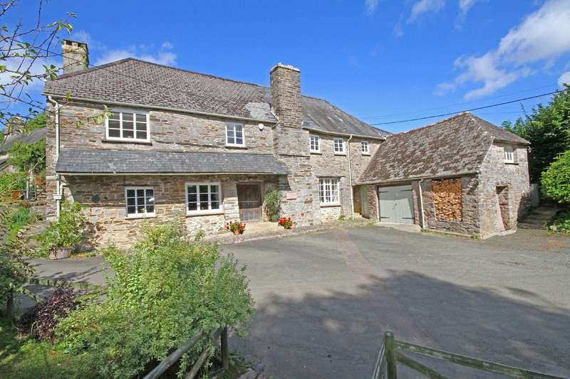 5 Bedrooms Detached House for sale in The Old Church House, Higher Week, Dartington, Totnes