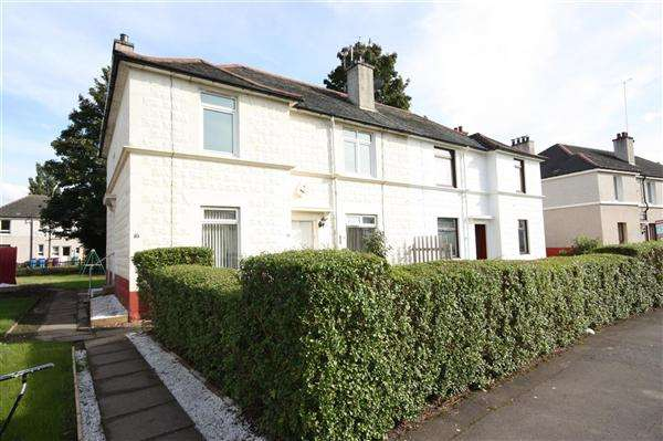 2 Bedrooms Flat for sale in Alness Crescent, Glasgow