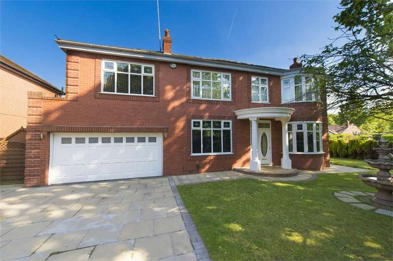 4 Bedrooms Detached House for sale in Worsley Road, Worsley, Manchester