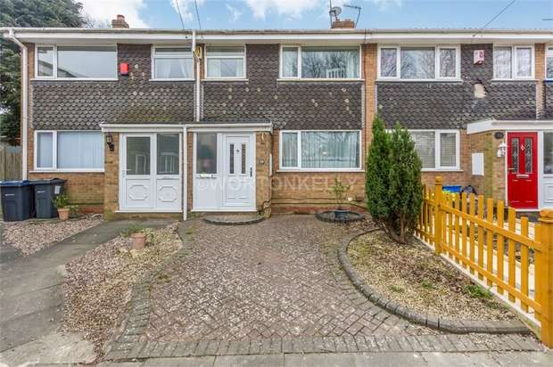 3 Bedrooms Terraced House for sale in Woodgate Drive, Bartley Green, West Midlands