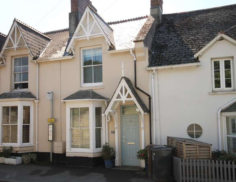 3 Bedrooms Terraced House for sale in 2 Flora Place, West Alvington, Kingsbridge