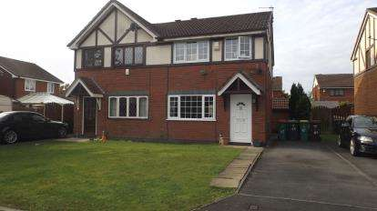 3 Bedrooms Semi Detached House for sale in Dovedale Close, Ingol, Preston, Lancashire, PR2