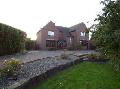 4 Bedrooms Detached House for sale in Salem Road, Coedpoeth, Wrexham, Wrecsam, LL11