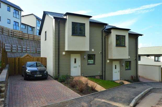 2 Bedrooms Semi Detached House for sale in Follaton Rise, Totnes