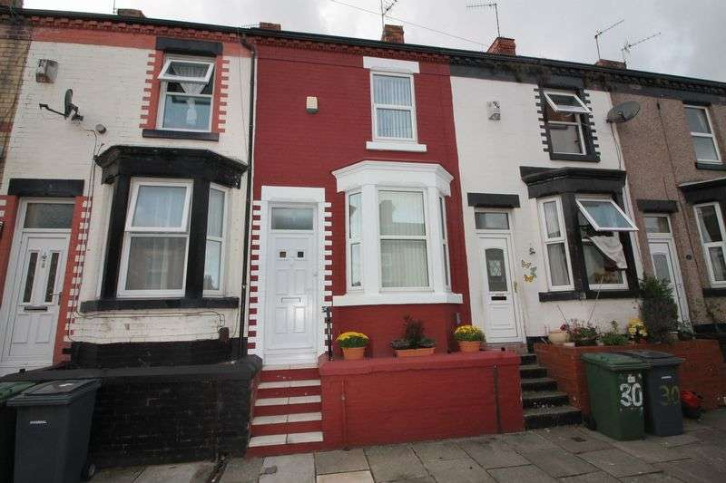 2 Bedrooms Terraced House for sale in Wycherley Road, Tranmere