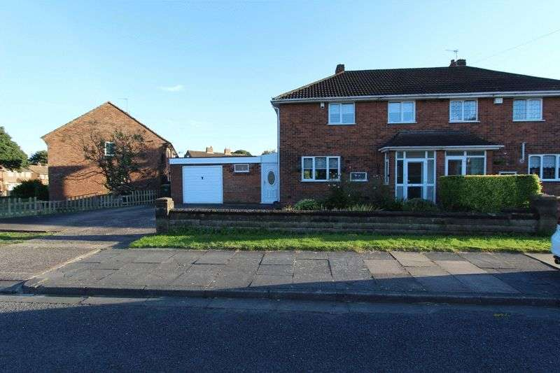 3 Bedrooms Semi Detached House for sale in Leasowe Road, Tipton