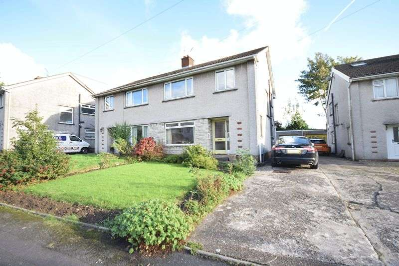 3 Bedrooms Semi Detached House for sale in 36 Lawrence Close, Bridgend