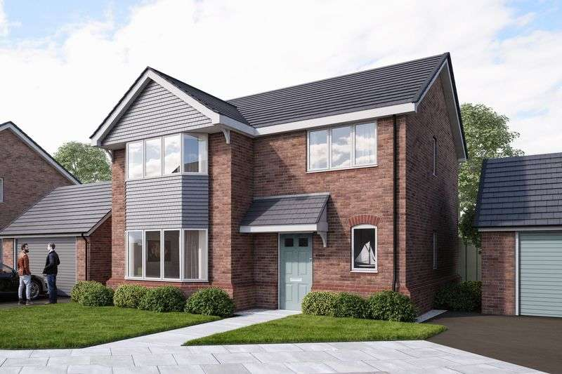 4 Bedrooms Detached House for sale in Wrexham Road, Pentre Bychan, Wrexham