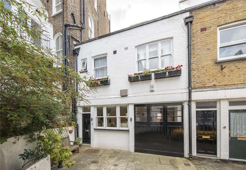3 Bedrooms Mews House for sale in Kingsley Mews, Kensington, London, W8