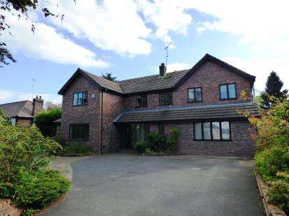 5 Bedrooms Detached House for sale in Hilton Road, Disley, Stockport, Cheshire