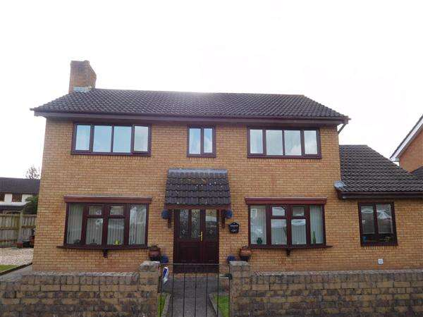4 Bedrooms Detached House for sale in Fairfield Close, Caldicot