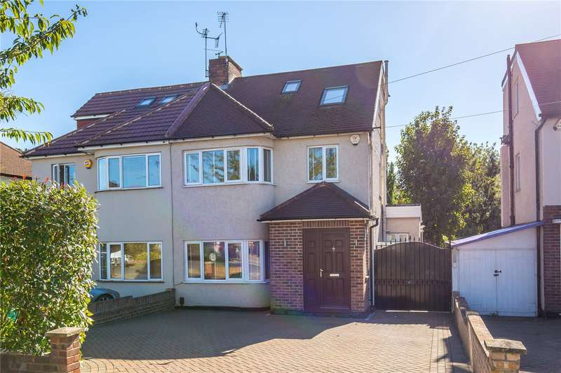 4 Bedrooms Semi Detached House for sale in Devonshire Road, Mill Hill, London, NW7