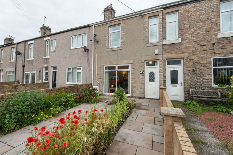 3 Bedrooms Terraced House for sale in Swarland Terrace, Morpeth, Northumberland, NE61