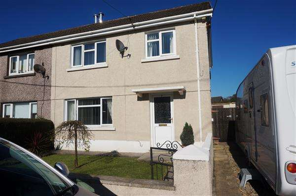 3 Bedrooms Semi Detached House for sale in Glanygors, PENYGROES, Llanelli