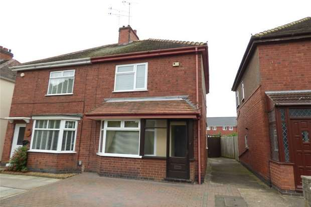 2 Bedrooms Semi Detached House for sale in Beaumont Road, Nuneaton, Warwickshire