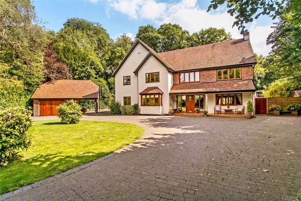 6 Bedrooms Detached House for sale in Swanmore, Southampton, Hampshire