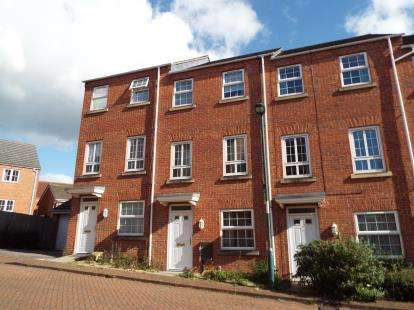 4 Bedrooms Terraced House for sale in Davies Way, Bestwood, Nottingham, Nottinghamshire