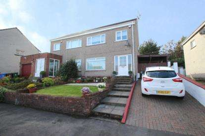 3 Bedrooms Semi Detached House for sale in Linlithgow Gardens, Mount Vernon, Glasgow, Lanarkshire