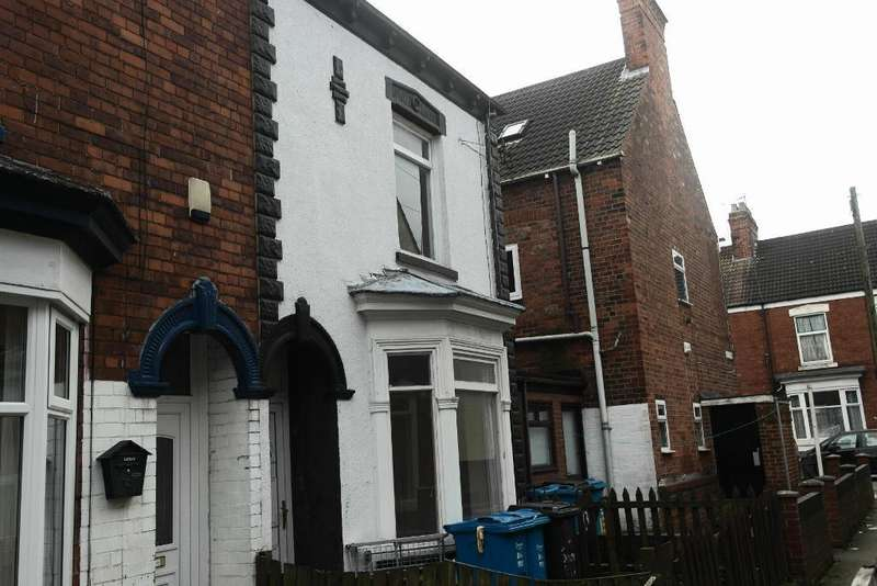 3 Bedrooms End Of Terrace House for sale in South View, Sherburn Street, Hull, HU9 2LE