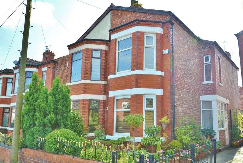 3 Bedrooms Semi Detached House for sale in Trenant Road, Salford
