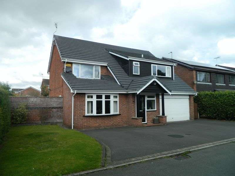 4 Bedrooms Detached Bungalow for sale in Davenport Close, Sandbach
