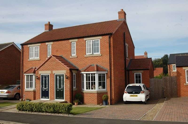 3 Bedrooms Semi Detached House for sale in St. James Road, Romanby, Northallerton