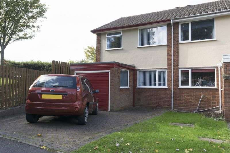 3 Bedrooms Semi Detached House for sale in St. Johns Close, Walsall Wood, Walsall.