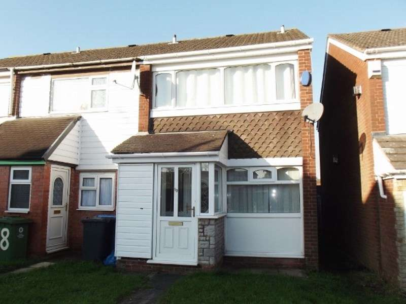 2 Bedrooms Terraced House for sale in Achilles Close, Great Wyrley, Walsall