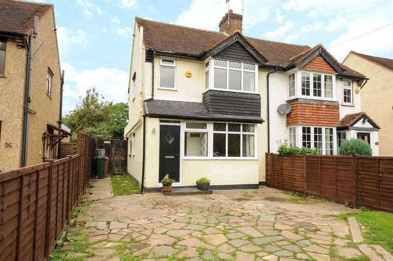 3 Bedrooms Semi Detached House for sale in Denham Way, Maple Cross, Hertfordshire, WD3