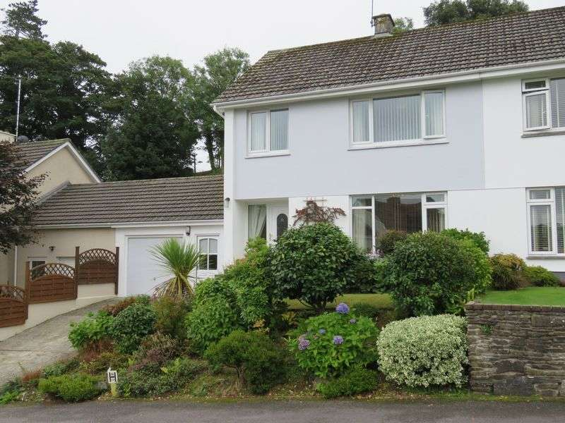 3 Bedrooms Semi Detached House for sale in Bosvean Gardens, Truro