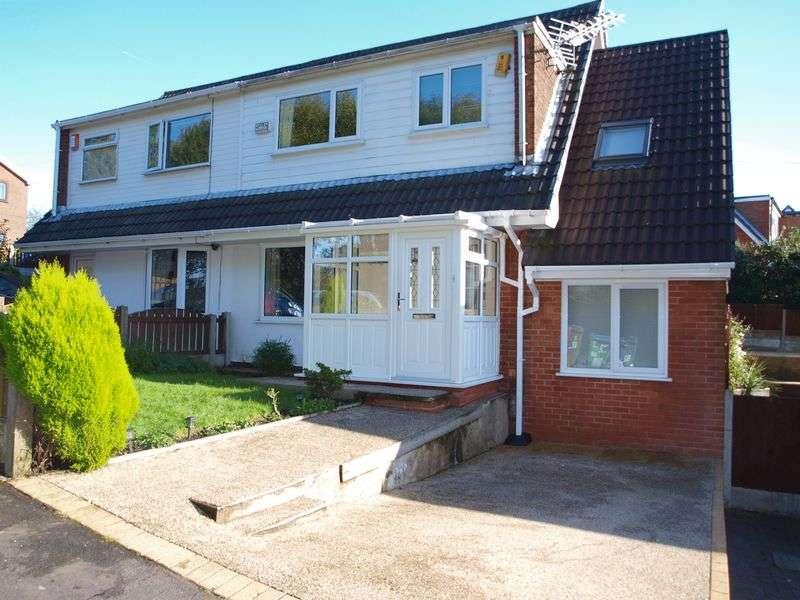 5 Bedrooms Semi Detached House for sale in Croft Head Drive, Milnrow, OL16 3UZ