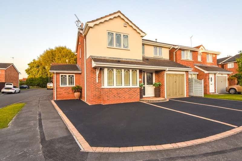 4 Bedrooms Detached House for sale in Needwood Way, Leicester, Leicestershire, LE19
