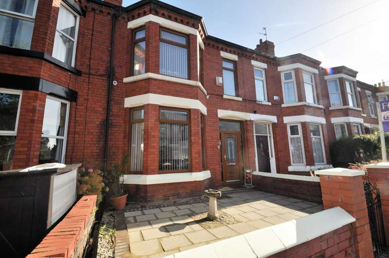 4 Bedrooms House for sale in Brompton Avenue, Wallasey