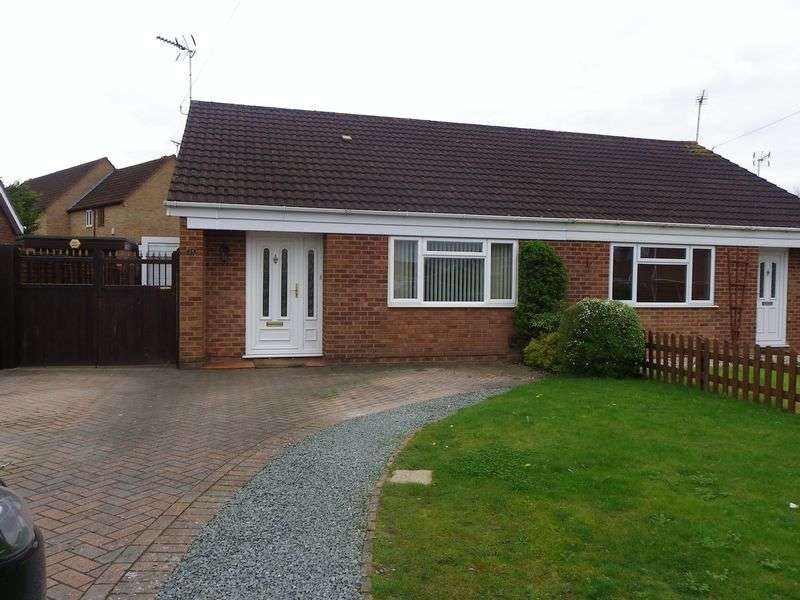 2 Bedrooms Semi Detached Bungalow for sale in The Holly Grove, Quedgeley, Gloucester GL2 4UU