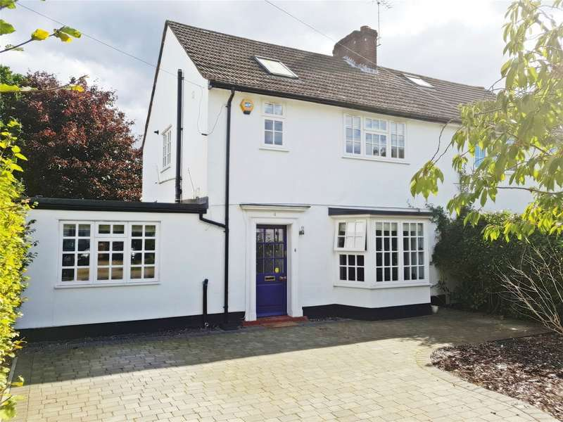 5 Bedrooms Semi Detached House for sale in Homerfield, WELWYN GARDEN CITY, Hertfordshire