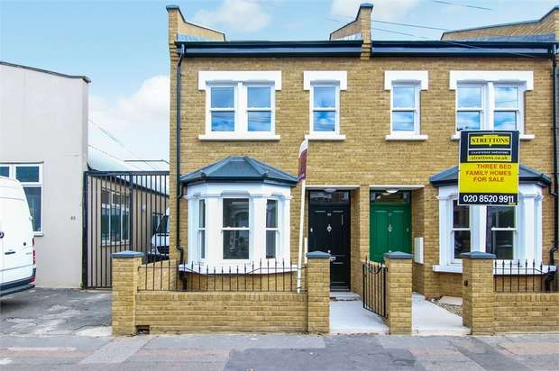 3 Bedrooms End Of Terrace House for sale in Shernhall Street, Walthamstow, London