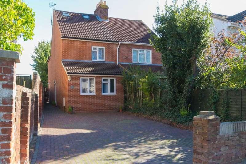 4 Bedrooms Semi Detached House for sale in Brockhurst Road, Gosport