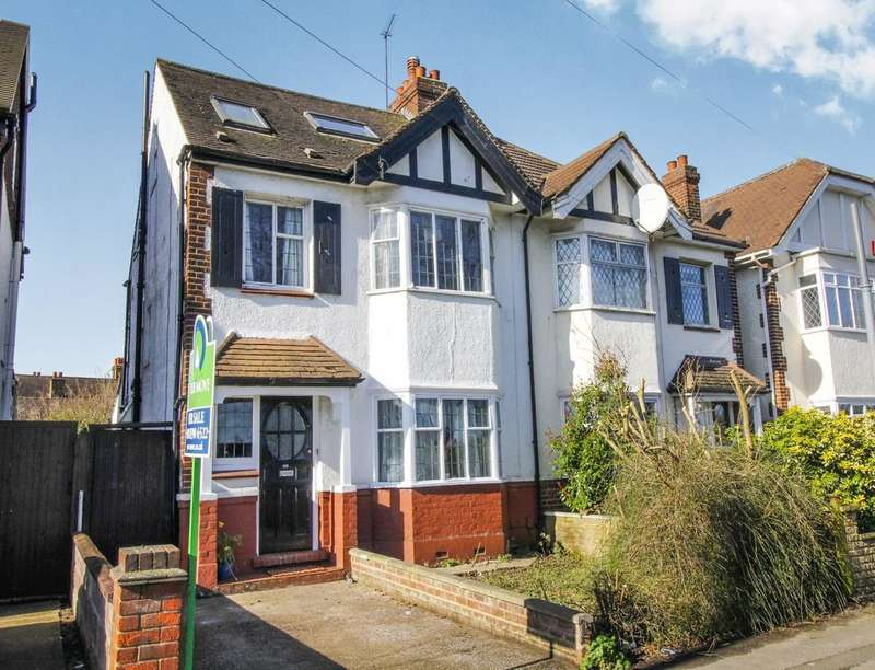 4 Bedrooms Semi Detached House for sale in King Charles Road, Surbiton, KT5