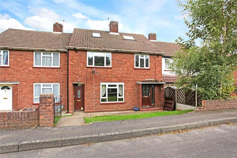 4 Bedrooms Terraced House for sale in Fernlands Close, Chertsey, Surrey, KT16
