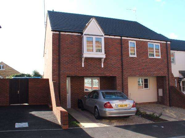 3 Bedrooms End Of Terrace House for sale in Glassbrook Road, Rushden