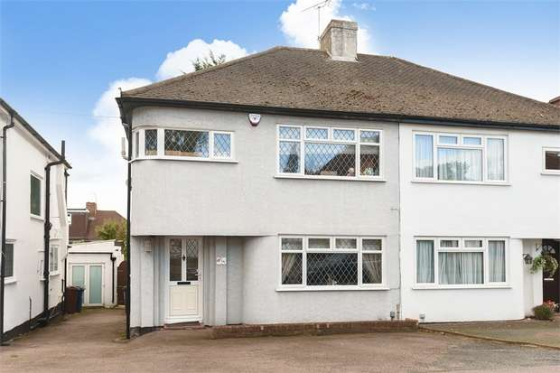 3 Bedrooms Semi Detached House for sale in Whitegate Gardens, Harrow, Middlesex