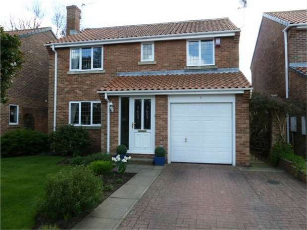 4 Bedrooms Detached House for sale in Chase Court, Sherburn Village, Durham