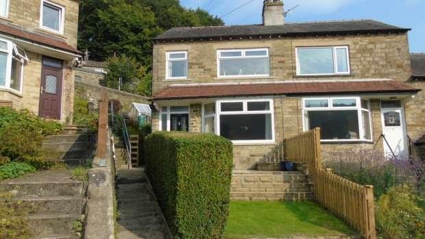 3 Bedrooms Semi Detached House for sale in Highfield Crescent Hebden Bridge
